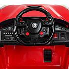Детский электромобиль Ferrari M 3176 EBLR-3 красный, фото 5