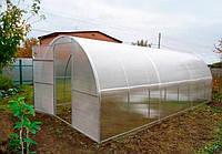 Теплица Садовод -30м²(300*1000*200см)поликарбонат 8мм,шаг дуги 1м