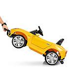 Детский электромобиль Ferrari M 3176 EBLR-6 желтый, фото 4