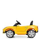 Детский электромобиль Ferrari M 3176 EBLR-6 желтый, фото 5