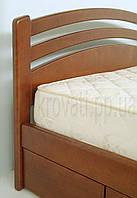 """Кровать двуспальная с матрасом. Кровать деревянная с ящиками """"Натали"""" kr.nt6.2"""