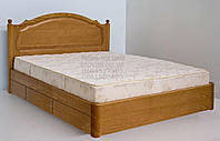 """Кровать двуспальная с матрасом. Кровать деревянная с ящиками """"София"""" kr.sf6.1"""