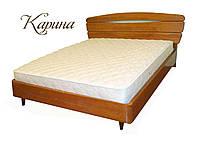 """Кровать двуспальная с матрасом. Кровать деревянная """"Карина"""" kr.kn3.1"""
