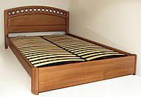 """Кровать двуспальная с матрасом. Кровать деревянная """"Екатерина"""" kr.ek3.1"""