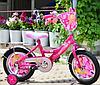 Детский велосипед Mustang Принцесса 12 дюймов Розовый