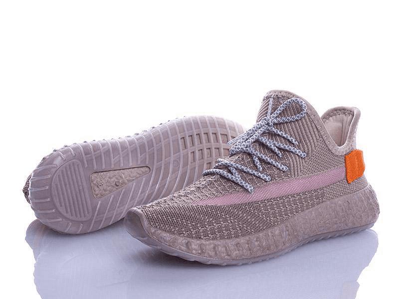 Кроссовки Violeta женские текстильные капучино
