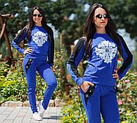 """Женский стильный спортивный костюм 574 """"Хром Хартс"""" в расцветках, фото 1"""