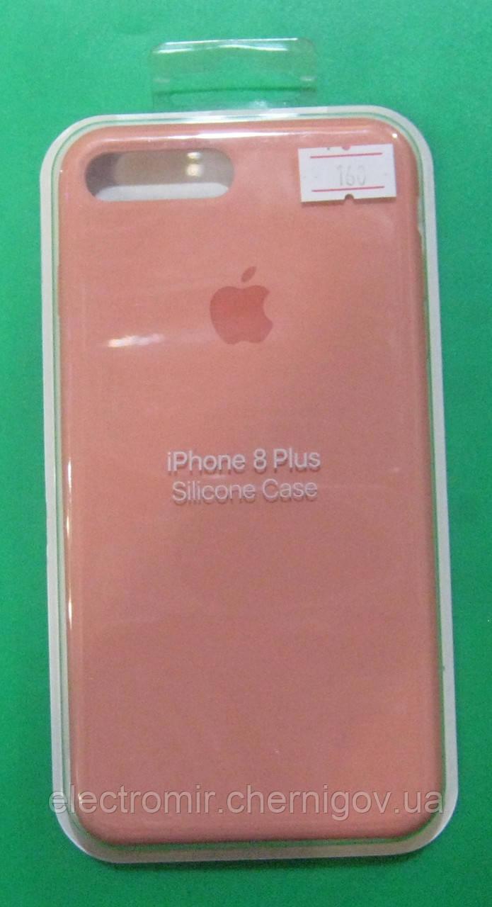 Чехол-бампер для телефона iPhone 8 Plus (кораловый)