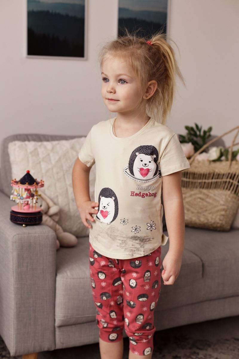 Летняя пижама  с капри для девочек  Nicoletta 85274