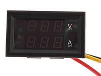 Амперметр и вольтметр постоянного напряжения и тока 0~33В 0-3А в корпусе