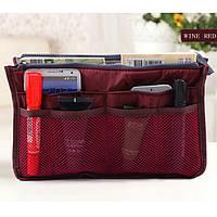 Органайзер для женской сумочки Maxi Бордовый