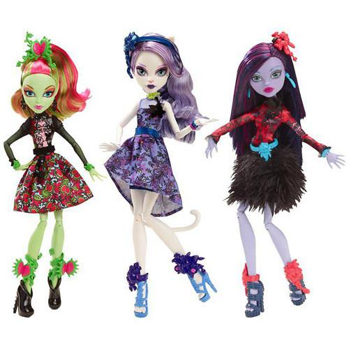 """Кукла """"Цвет и тьма"""" Monster High"""