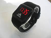 Мужские часы Adidas  черные спорт (Арт. 01-1)