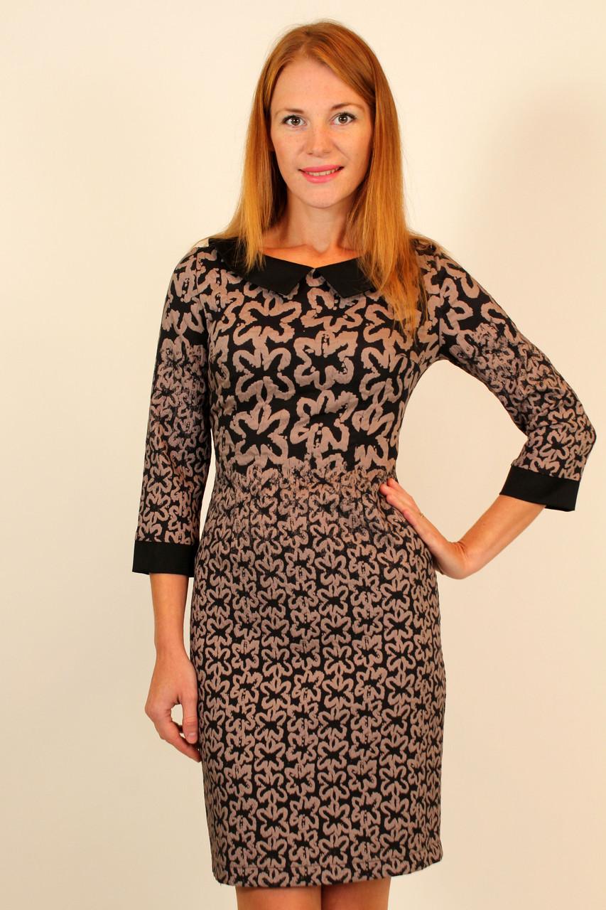 Нарядное приталенное платье 42-48 р ( разные цвета )