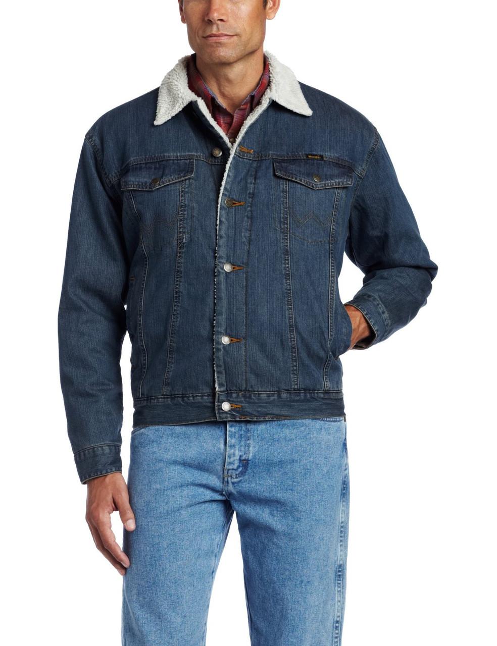 Куртка Wrangler Men's Rustic Sherpa Lined Jacket