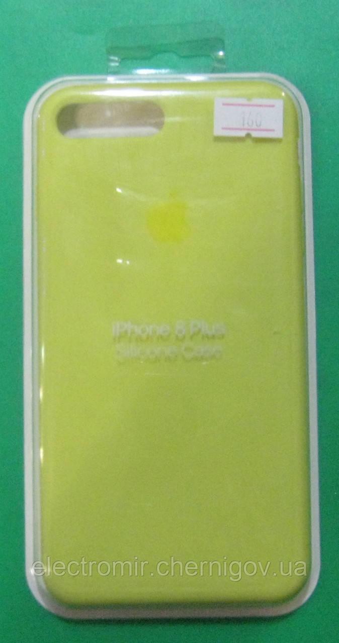 Чехол-бампер для телефона iPhone 8 Plus (салатовый)