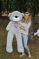 Плюшевый мишка Нестор 160 см.Мягкая игрушка.игрушка медведь.мягкие игрушки украина Серый