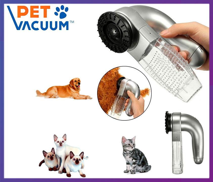 Машинка для вычесывания шерсти Pet Vacuum