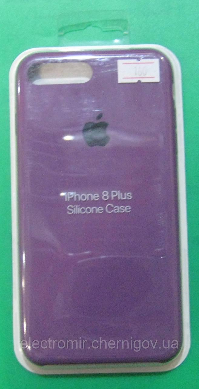 Чехол-бампер для телефона iPhone 8 Plus (фиолетовый)
