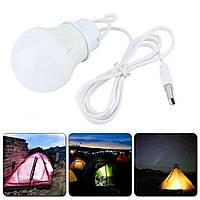USB-лампочка LED Energy Saving Lamp 5V 15w, фото 1