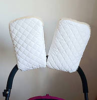 Муфта на коляску Merrygoround White белый - 236947