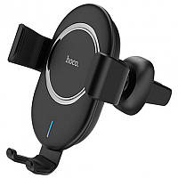 Холдер Hoco CW17 Black (Wireless Charger)