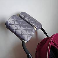 Муфта на коляску Merrygoround Gray серый - 473885