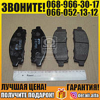 Колодка тормозная МИТСУБИСИ L200 передн. (пр-во REMSA) (арт. 1242.01)