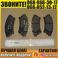 Колодка тормозная ЛЕКСУС RX450H,450 AWD,350 AWD 04/09- задн. (пр-во REMSA) (арт. 1395.00)