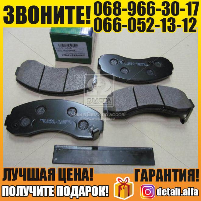 Колодки тормозные дисковые (пр-во PARTS-MALL) (арт. PKB-009)