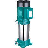 Насос центробежный многоступенчатый вертикальный 380В 2.2кВт Hmax 98м Qmax 100л/мин LEO 3.0 (7754573)