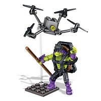 Конструктор Донателло Супер трюки, 40 дет. - Donatello, Drone Pursuit, Tmnt, Mega Bloks - 138369