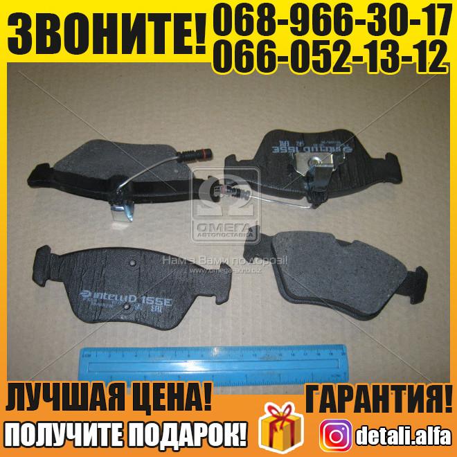 Колодка тормозная передняя (с датч.) (пр-во Intelli) (арт. D155EI)
