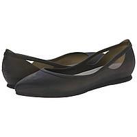 Балетки Crocs Crocs Rio Flat Black Оригінал