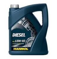 Минеральное моторное масло Mannol DIESEL 15W-40 5L