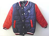 Куртка осенняя для мальчика рост 104 - 122 Ferrari