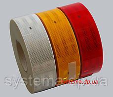 3M™ SL983-72 Diamond Grade™ - Маркировочная световозвращающая лента для жесткого кузова 55 мм х 50 м, красная, фото 2