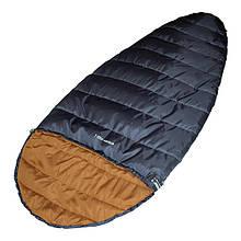 Спальный мешок High Peak Ellipse 250L / +5°C (Left) 922062 темно-синий