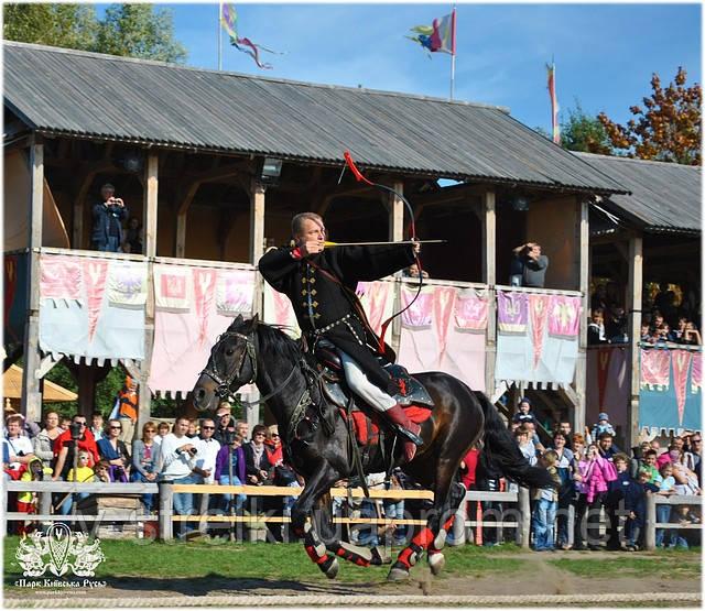 Международный чемпионат конных лучников  30.08-1.09.2013