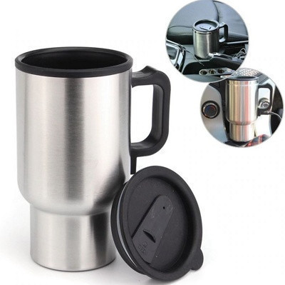 Автомобільна чашка 12V CUP   гуртка з підігрівом Electric Mug