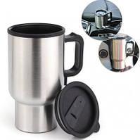 Автомобільна чашка 12V CUP   гуртка з підігрівом Electric Mug, фото 1