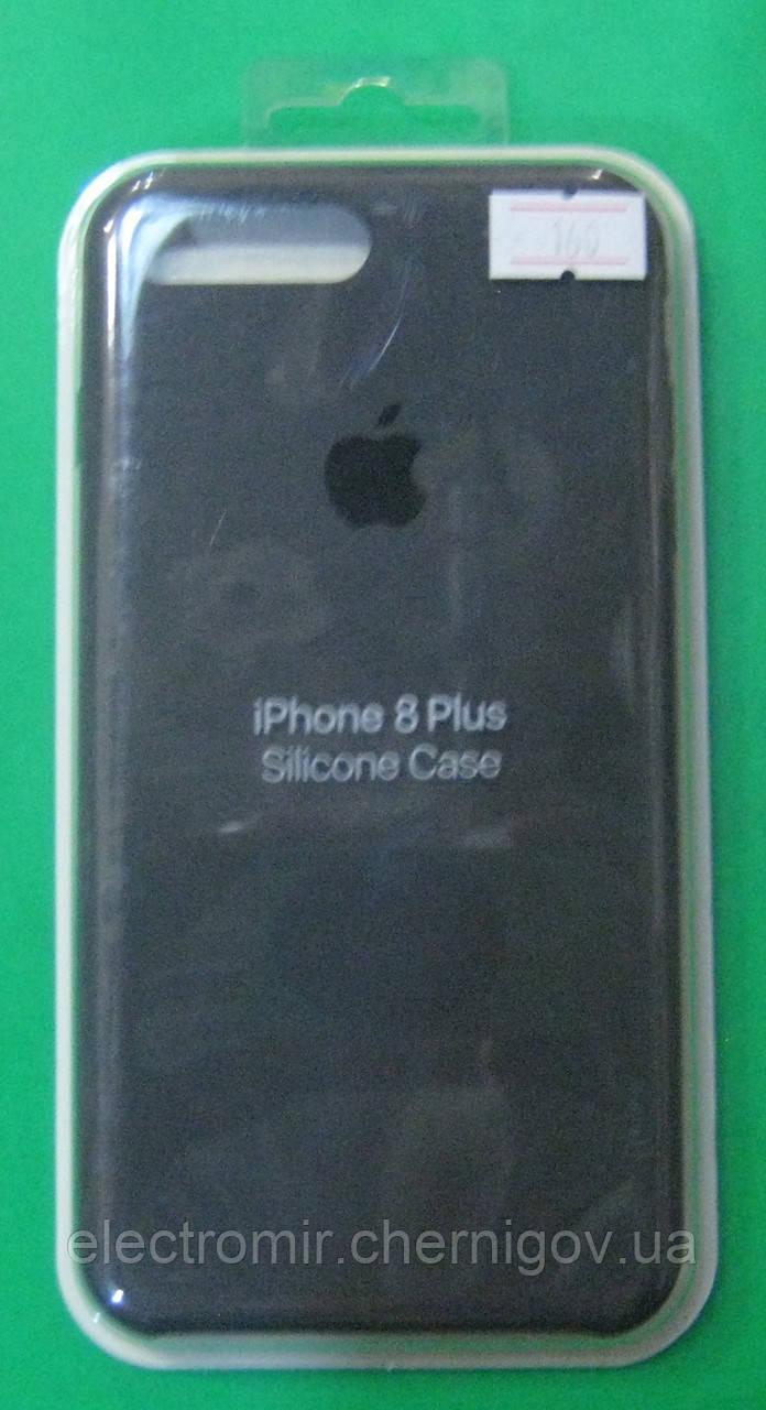 Чехол-бампер для телефона iPhone 8 Plus (черный)