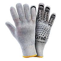 Перчатки трикотажные с точечным ПВХ покрытием GRAD (9442715), фото 1