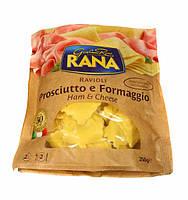 Свежая паста Равиоли с ветчиной и сыром Rana 250г