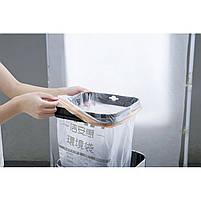 Ведро для мусора JAH 25 л круглое металлик без крышки и внутреннего ведра, фото 4