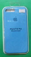 Чехол-бампер для телефонов iPhone 7 Plus, iPhone 8 Plus (голубой)