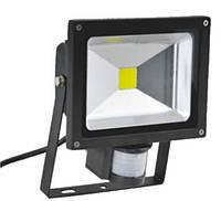 Прожектор светодиодный с датчиком движения Eurolamp LED-FL-20(sensor) 20W