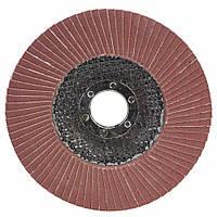 Круг лепестковый торцевой Т27 (прямой) Ø125мм P220 Sigma (9172171), фото 1