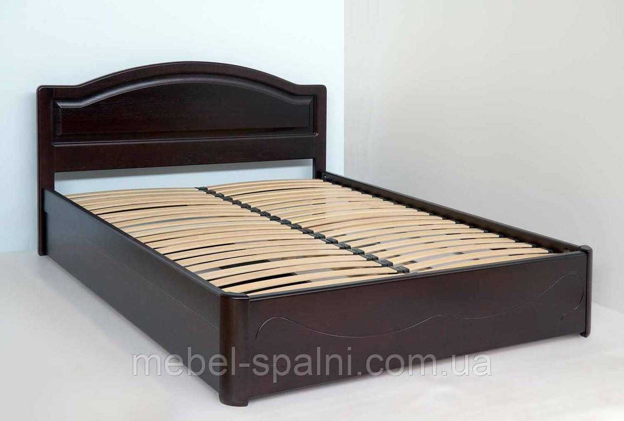 """Кровать двуспальная Запорожье. Кровать деревянная с подъёмным механизмом """"Анжела"""" kr.ag7.1"""