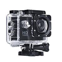 Спортивная экшн камера, с креплением на голову, A7 Sports Cam, HD 1080p, для спорта, цвет - чёрный